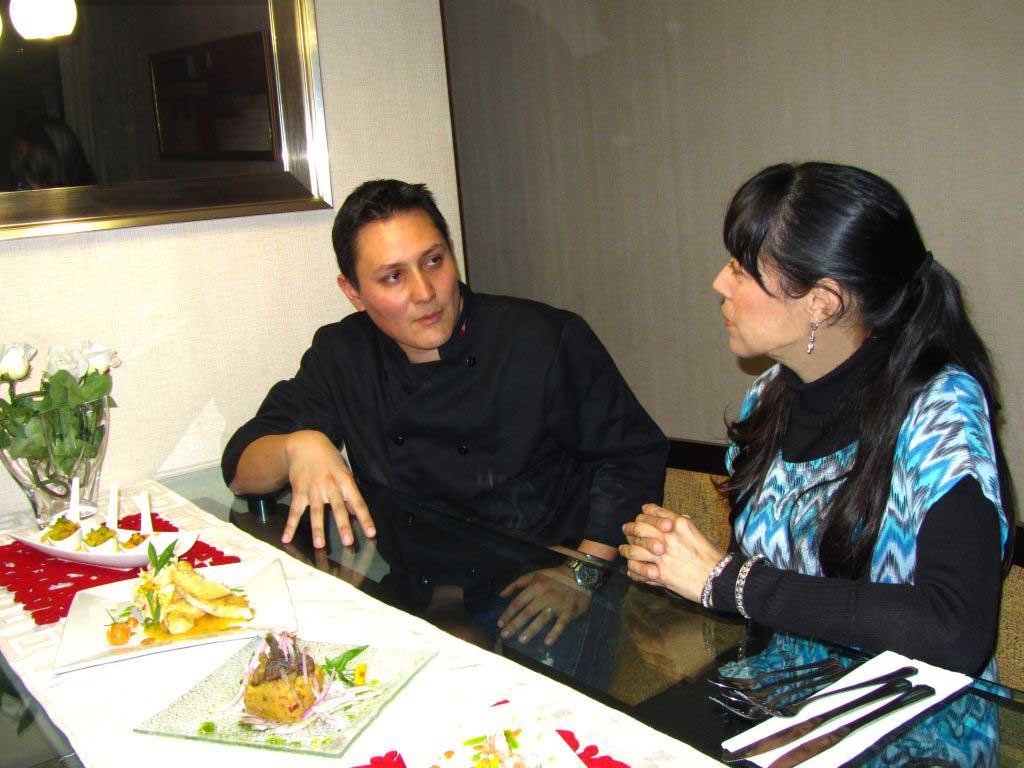 comida peruana chef a domicilio