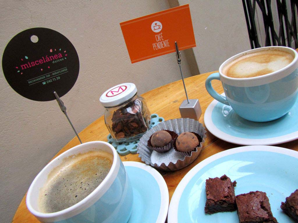 Café Pendiente