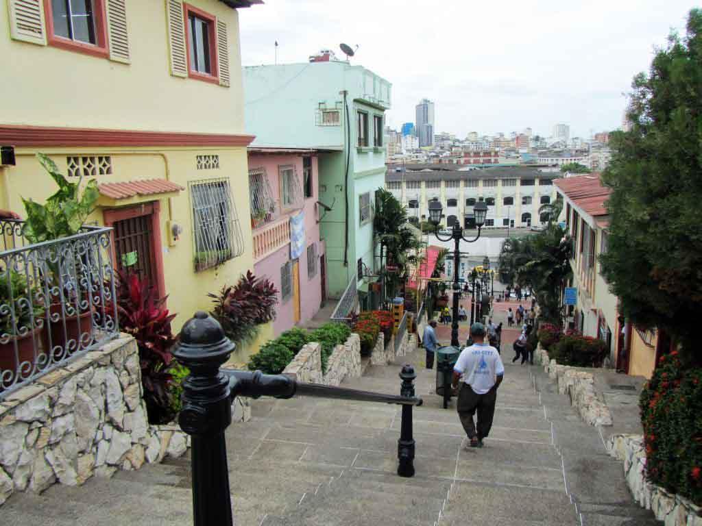 Barrio Las Peñas Guayaquil Ecuador
