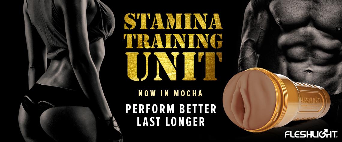 Fleshlight Stamina Training Unit - nuevo color mocha