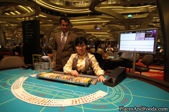 Exclusive Marina Bay Sands Singapore Casino Pictures