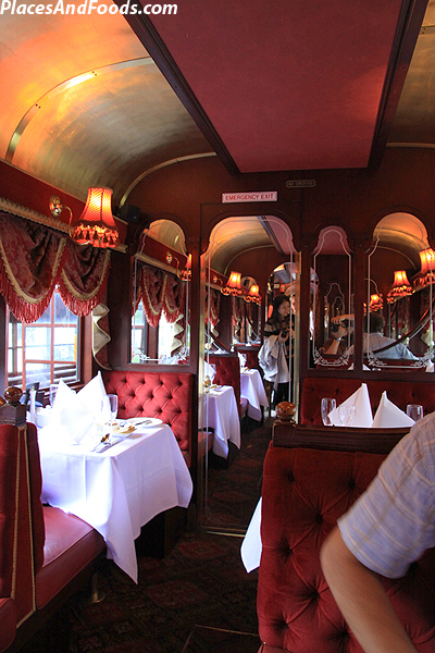 best the chairs metal kitchen canada colonial tramcar restaurant ­experience - places and foods
