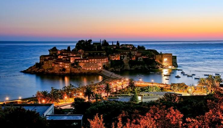 Obiective turistice în Muntenegru