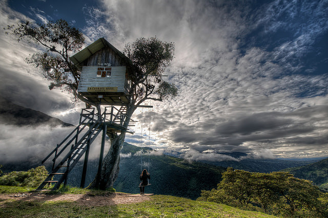 Image result for swing at the end of the world