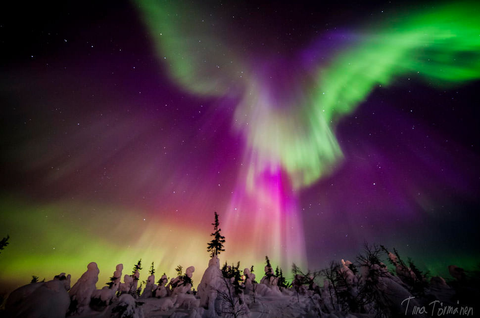 Northern Lights Finland Best Time Year