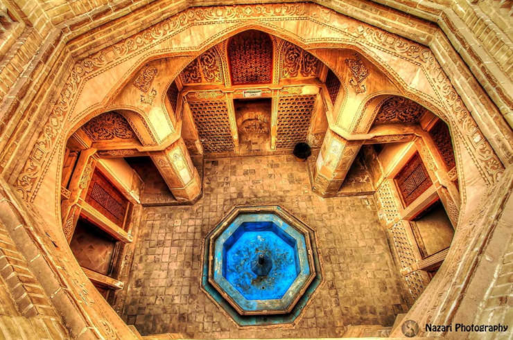 Top 10 Arabic Architecture-Bathhouse-Photo by Saeed Nazari