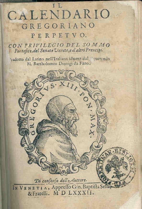 Il Calendario Giuliano.Calendario Giuliano Placida Signora