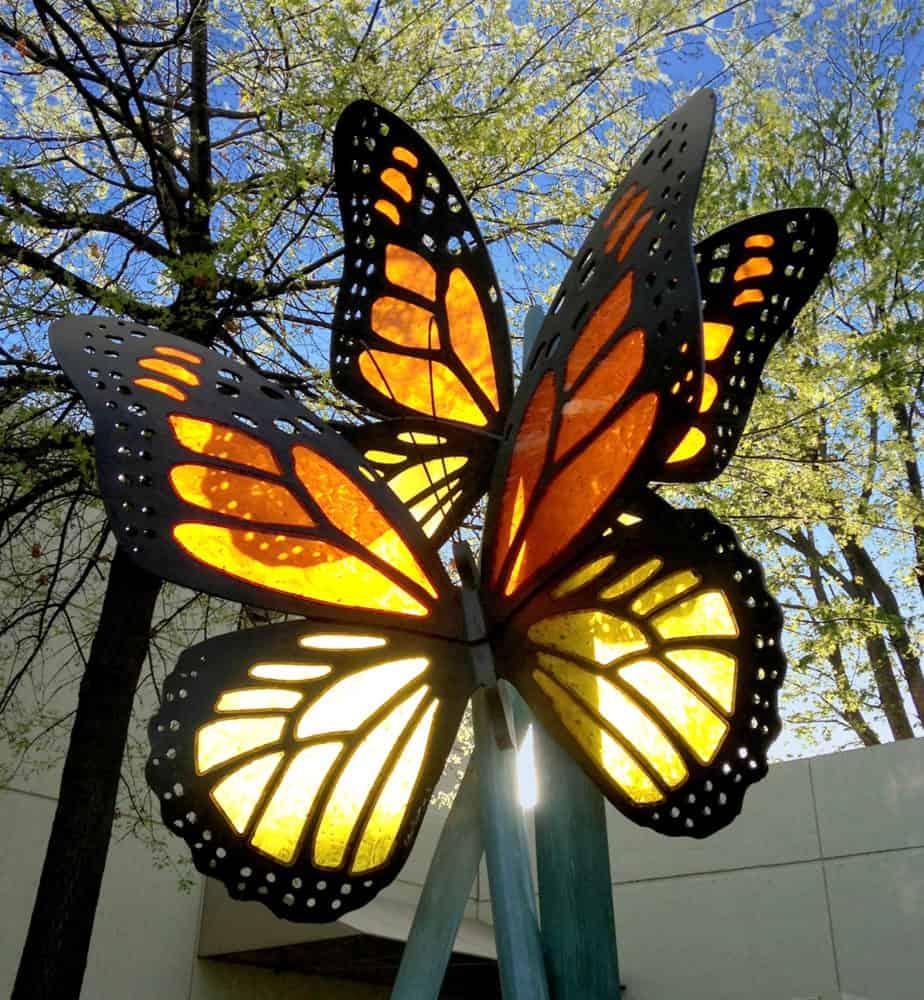Butterfly Sculptures  Acrylic Butterfly Sculptures