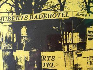 Sjælden brugt vinyl Huberts badehotel