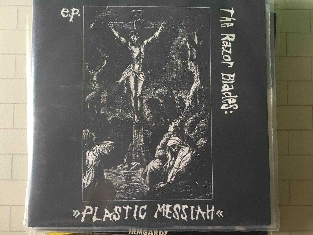 Razor Blades plastic Messiah DK Decay
