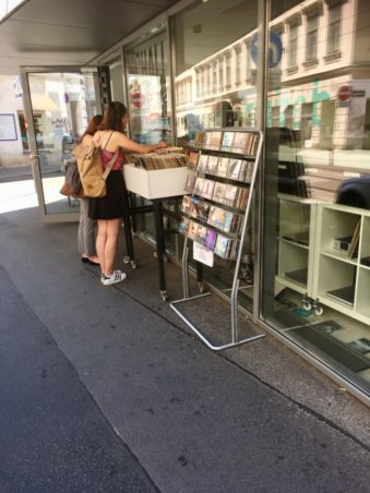 pladebutikker i Wien
