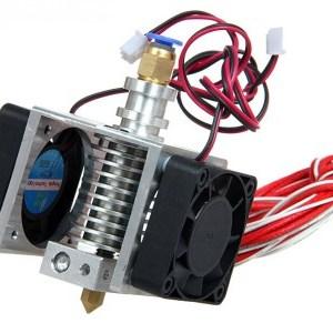 0.3MM 1.75mm Filament E3D Metal extrusion Long/Short Distance kit sprinkler Ugello with dual cooling fans 3D printer