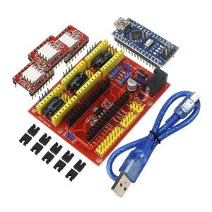 H033 CNC Shield V4 A4988 Controller for RAMPS1.4 Reprap 3D Printer