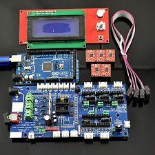 H037 Ultimaker1.57 + Mega 2560 + 5 Pezzi A4988 + 2004 LCD Controller per Stampante 3D RepRap