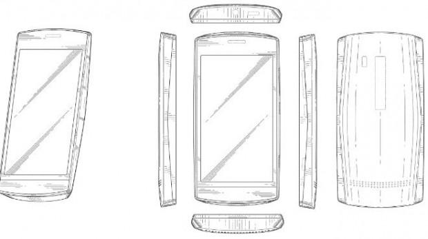 Brevetto di progettazione di un nuovo terminale Nokia e