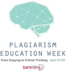 Plagiarism Education Week Logo