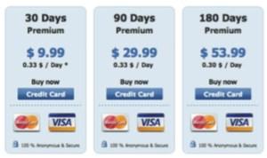Mastercard and Visa Image
