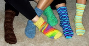 Knitted Socks Image