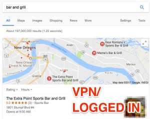 VPN Logged In