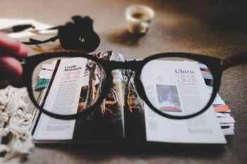 Eyeglasses Focus Image