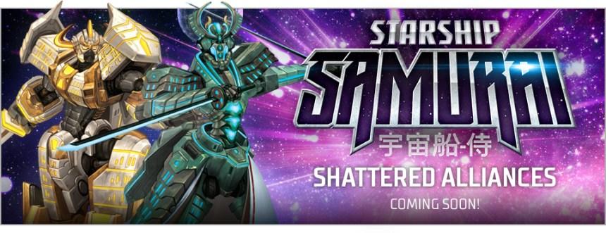 Image result for Starship Samurai: Shattered Alliances