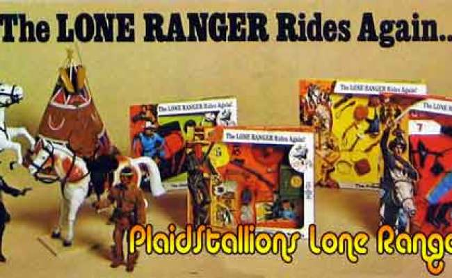 Lone Ranger Action Figure Archive I Marx I Gabriel I