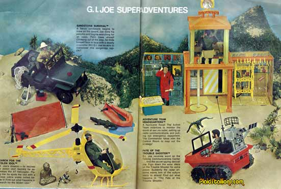 1974 GI Joe Adventure Team Newsletter I Kung Fu Grip I I Plaidstallionscom
