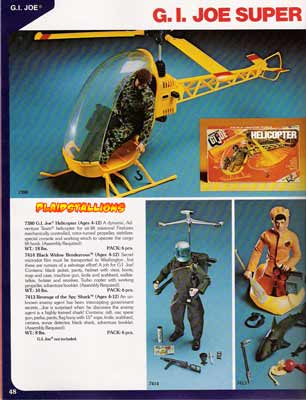 Hasbro Toys 1976 Catalog I Adventure Team I Gi Joe I