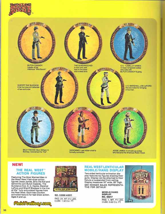 Kenner's The Real West figs