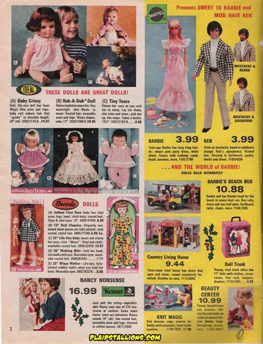 True Value Toy Catalog From 1974 I Barbie I I