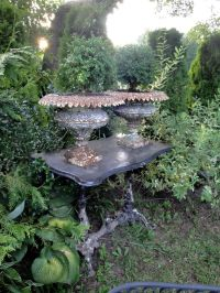 ANTIQUE AND VINTAGE GARDEN URNS AND PLANTERS