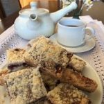 Scottish shortbread con mermelada de fresa