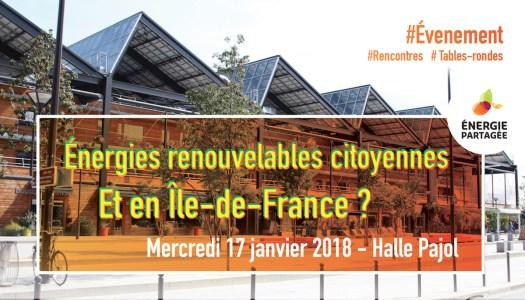 Énergie Renouvelable Citoyenne : Et en Île-de-France ?