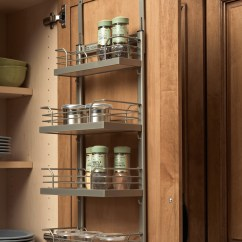 Kitchen Cabinet Spice Rack Renovated Accessories Plain And Fancy