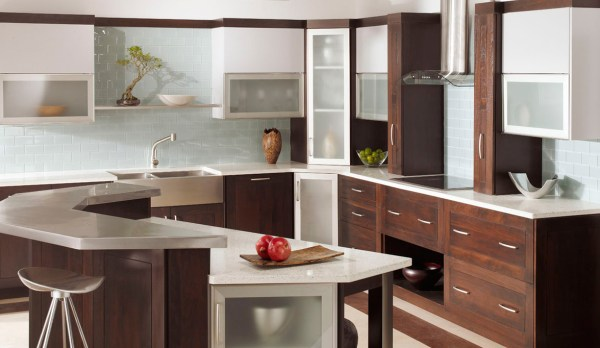 plain and fancy kitchen cabinets Kitchen Cabinets with Distinct modern look Plain & Fancy