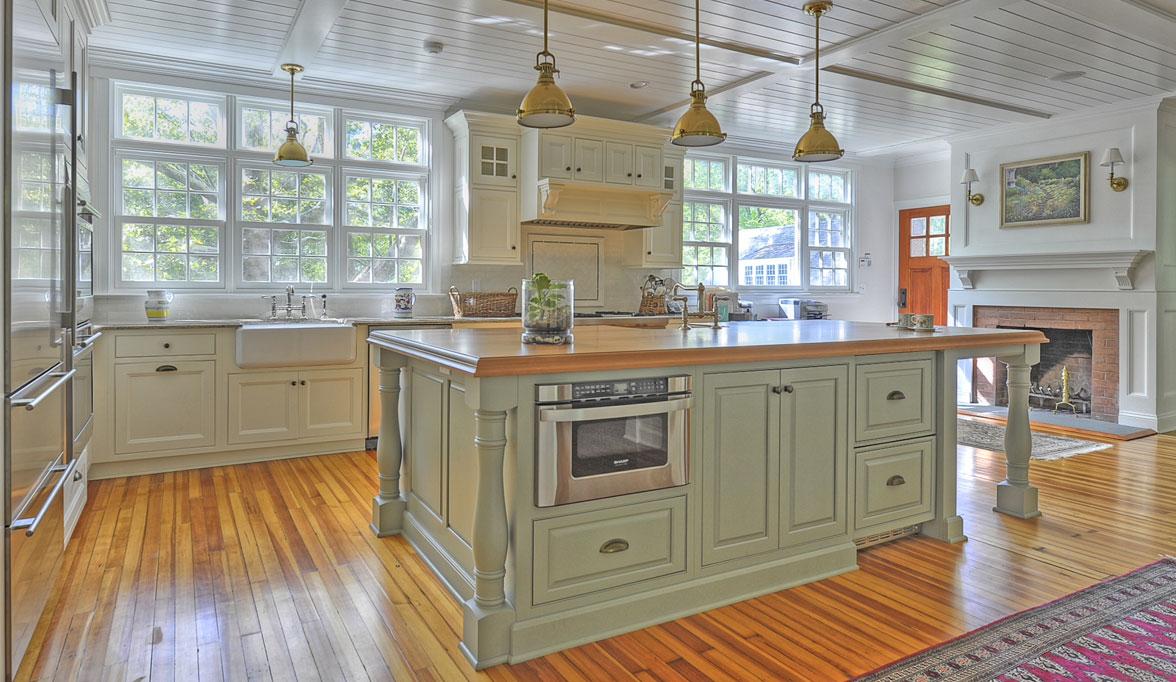Pleasing Traditional Kitchen Cabinets  Plain  Fancy