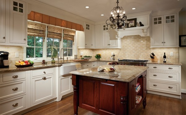 plain and fancy kitchen cabinets Cabinets with Subtle Sophistication Plain & Fancy Cabinetry