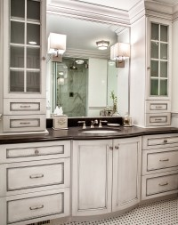Bathroom Cabinets with Form and Function Plain & Fancy ...