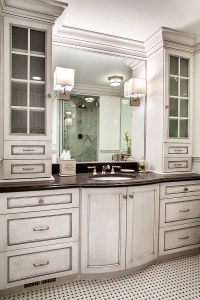Custom Bathroom Cabinets with Form and Function Plain ...