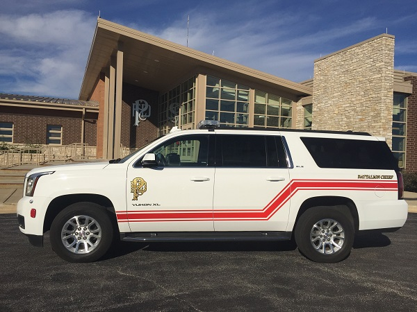 Battalion Chief's Vehicle
