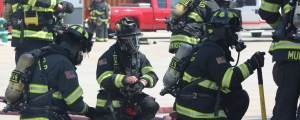 gearing up for live fire training