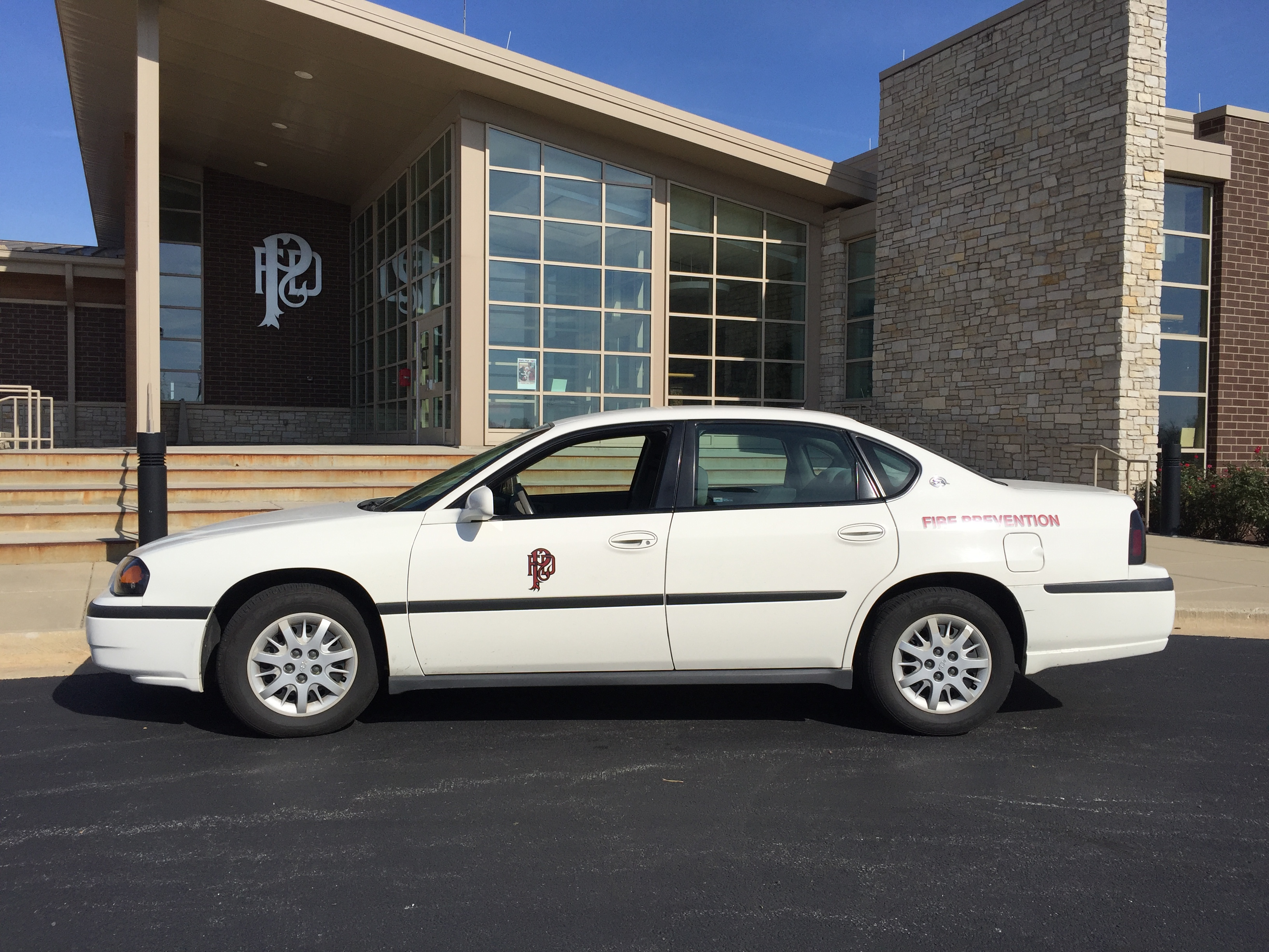 Fp2 2005 Chevy Impala Fire Prevention Plainfield Fire