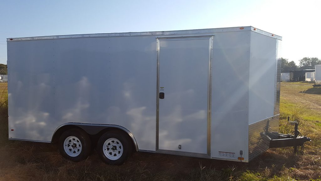 8.5' Wide Diamond Cargo Trailer 14'-18' 1