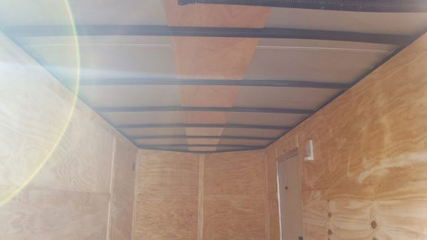6x14 V Nose Tandem Axle Diamond Cargo Trailer 1