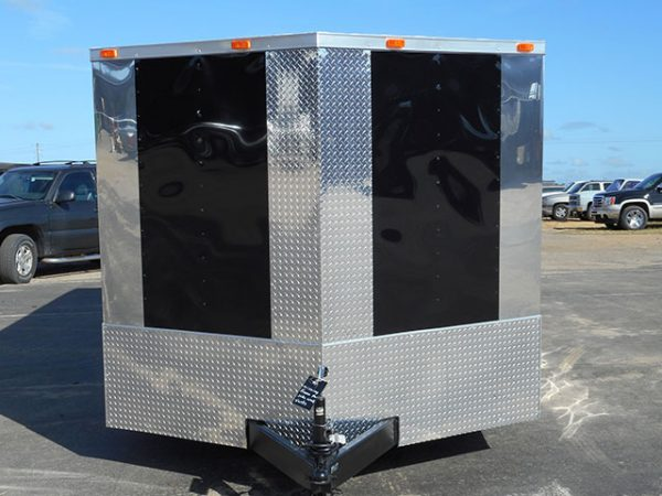 8.5x30 V Nose Tandem Axle Diamond Cargo Trailer 1