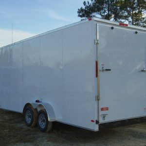 7x16 rolling vault tandem cargo trailers for sale