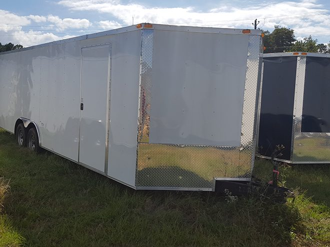 8.5x24 Enclosed Trailer