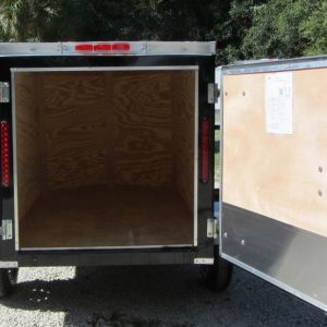 RollingVault V Nose 4x6 Enclosed Trailers For Sale
