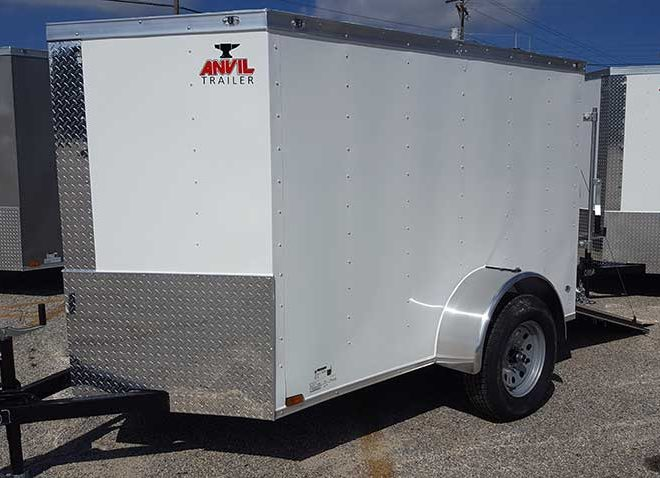 Anvil V Nose 5x10 Cargo Trailers For Sale