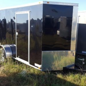 Diamond Cargo V Nose Single Axle 6x10 Trailers For Sale